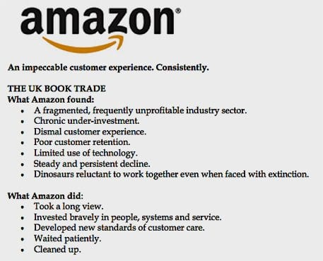What Amazon did
