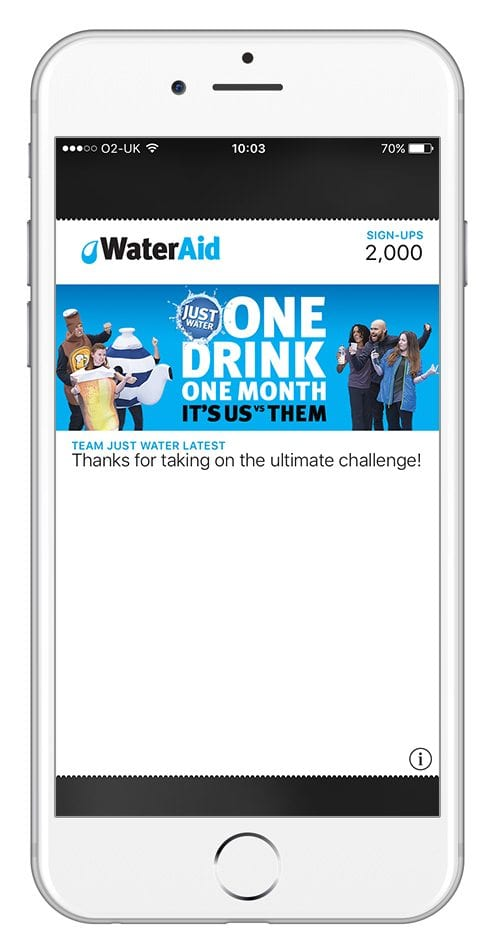 wateraid mobile pass