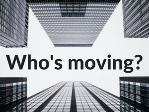 Who's moving? March appointment round-up