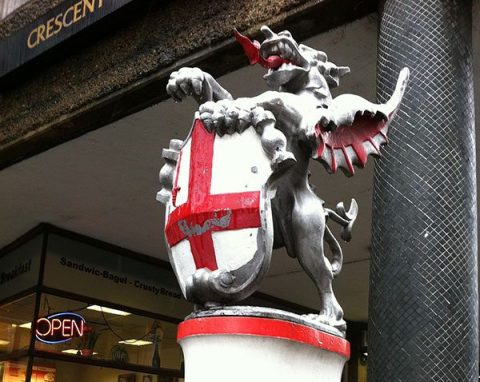 City of London boundary dragon - photo: Howard Lake