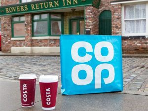 Call for a charity shop on Coronation Street