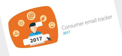 DMA Consumer email tracker 2017 report cover