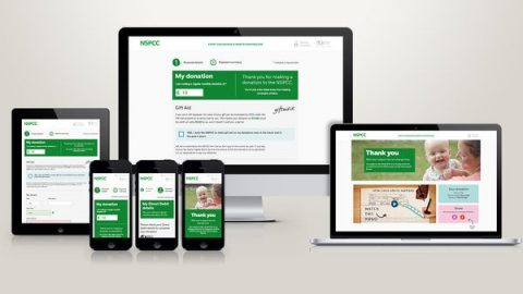 nspcc donation platform