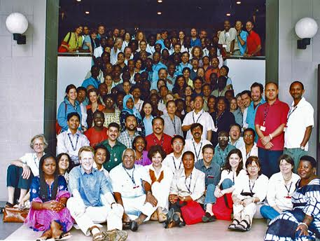 in 2006 ActionAid's strategy meeting had 140 participants from 40 countries, 50 per cent women, mostly Africans and Asians.