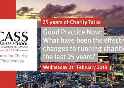 Professor Ian Bruce marks 25 years of Charity Talks