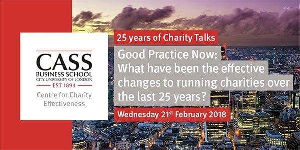 25 years of Charity Talks