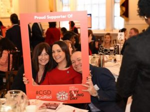 Lord Mayor asks people to #GoRed for this year's City Giving Day