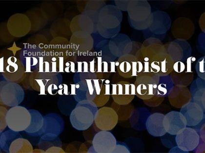 Irish philanthropy award winners announced