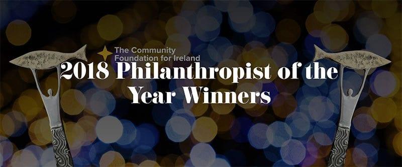 2018 Philanthropist of the Year Award winners logo