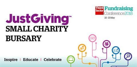 JustGiving small charity bursary