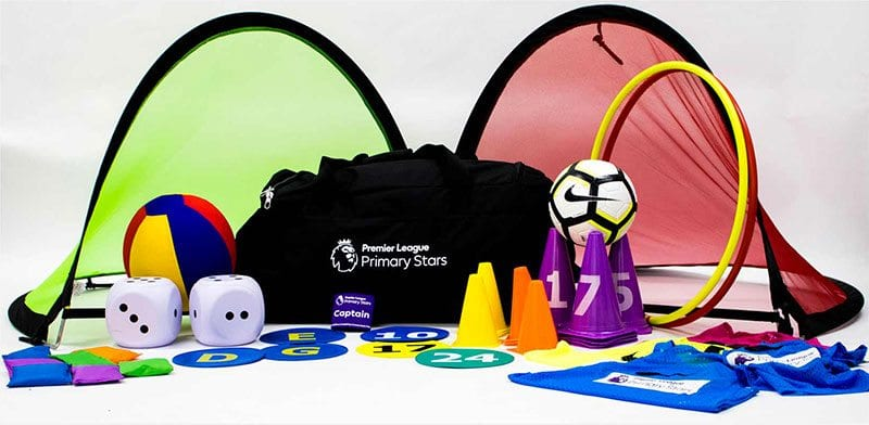 Kit on offer from Premier League Primary Stars scheme
