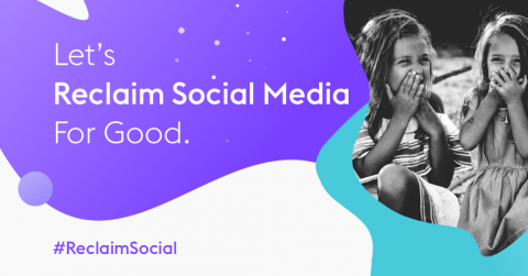 Reclaim social media for good