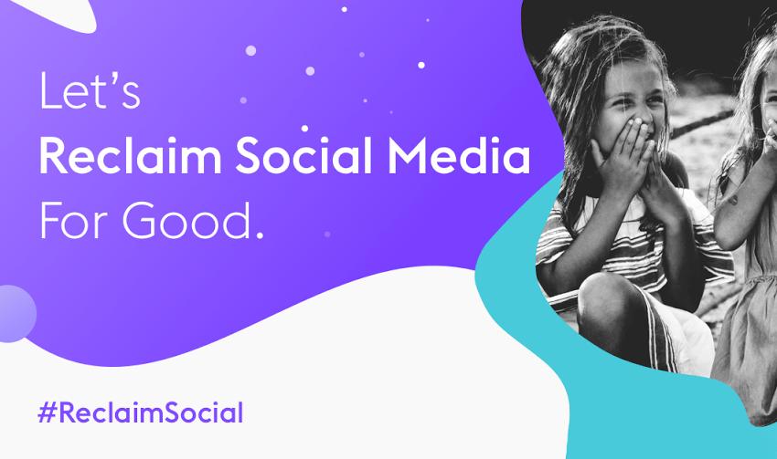Reclaim social media for good