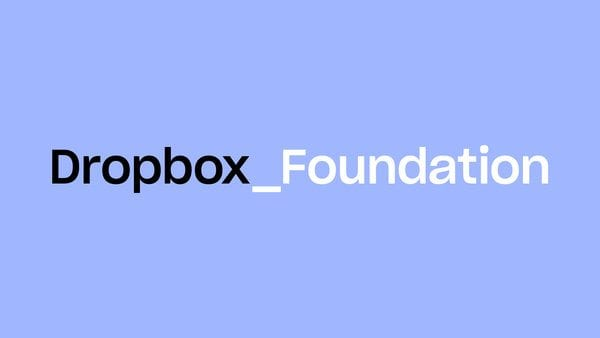 Dropbox Foundation