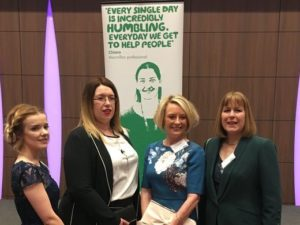 Macmillan volunteers thanked at special Buckingham Palace reception