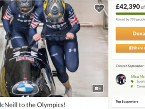 Women's bobsleigh team crowdfund their way to Winter Olympics