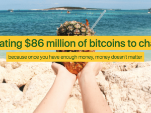 Pineapple Fund sees anonymous donor give away $86m in bitcoin