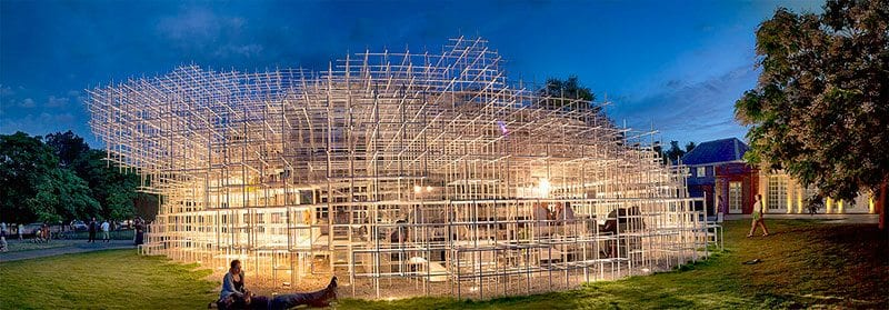 Serpentine Pavilion, Hyde Park. 2013. By David Telford on Flickr.com.