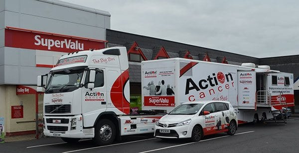 Action Cancer's Big Bus - photo: Action Cancer