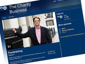 Matthew Taylor examines fundraising in The Charity Business