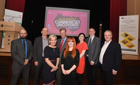 The Communities Uncovered report was officially launched at an event at the University of Wolverhampton's Chancellors Hall.