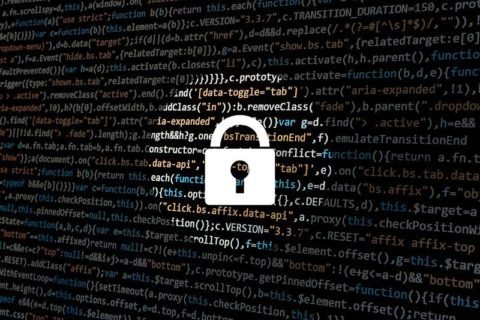 Cyber security - padlock over data - image: Pixabay.com