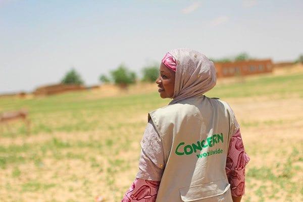 Mariama manages Concern Worldwide's nutrition programme in Niger - photo: Concern Worldwide