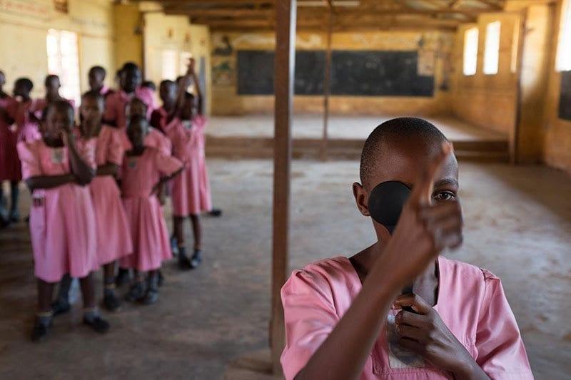 School girl in Uganda - photo: Queen Elizabeth Diamond Jubilee Trust