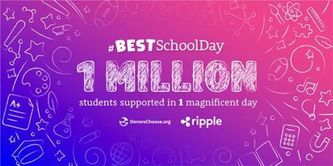 Ripple supports Donorschoose.org with $29m donation