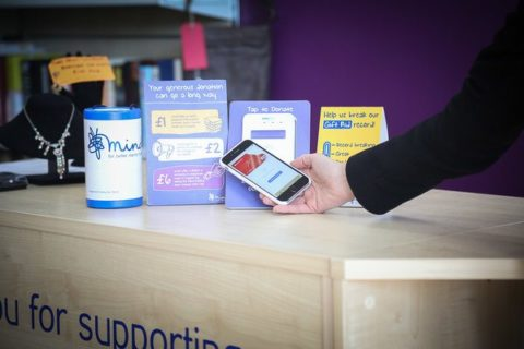Mind contactless donations