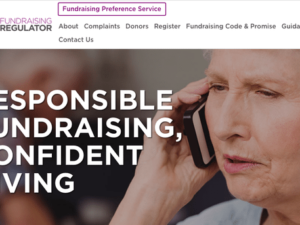Fundraising Regulator seeks feedback on website