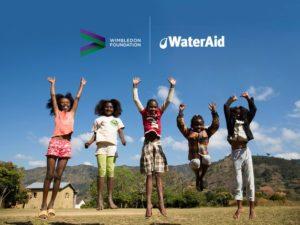 World Water Day sees three-year partnership launch between WaterAid & Wimbledon Foundation