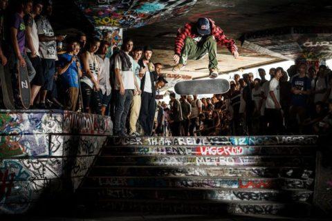 South Bank Undercroft skateboarding space