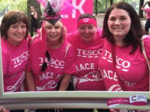 Tesco Mother's Day cards feature colleague stories to raise funds for CRUK