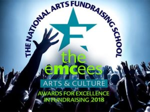 Shortlist announced for 2018 Emcees Arts & Culture Awards for Excellence in Fundraising