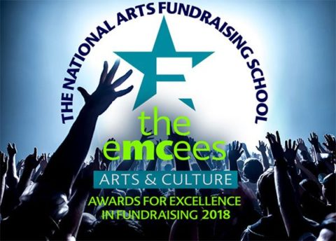 Emcees - Arts and Culture awards for excellence in fundraising 2018