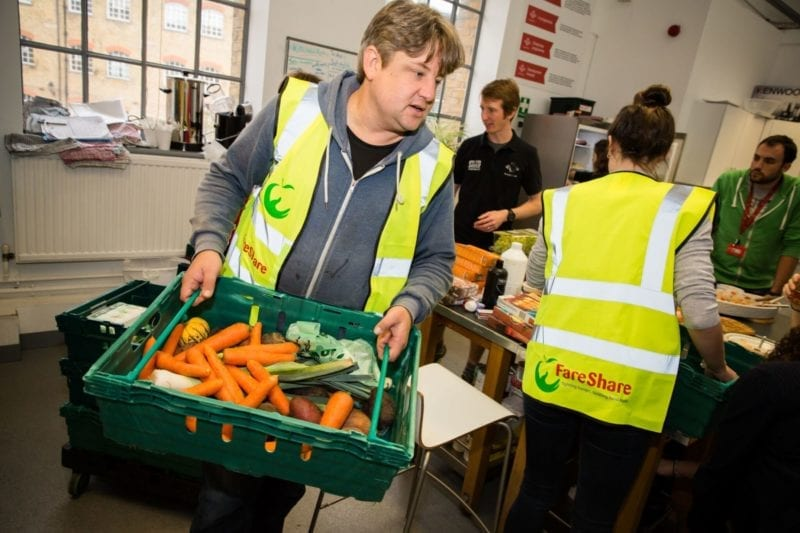 FareShare food delivery