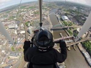 100 microlights to fly length of Tyne for Streetwise