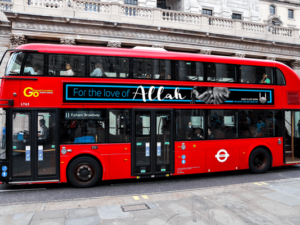 Islamic Relief takes to the buses with Ramadan campaign