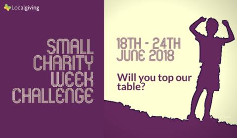 Small Charity Week Challenge