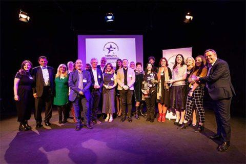 Emcees winners 2018. Photos by socialessex.co.uk © The Management Centre