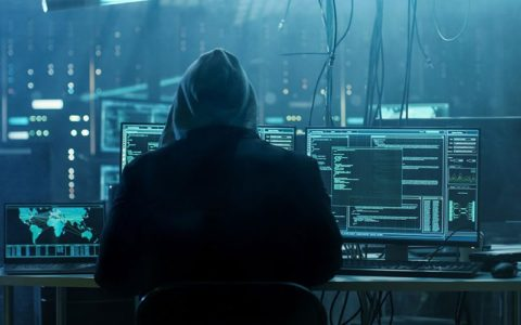 Hooded hacker