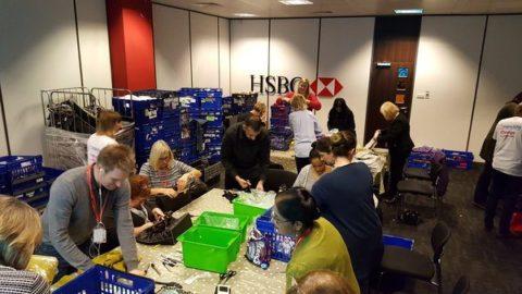 Newlife HSBC pop-up