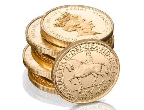 Sapphire Coronation Jubilee coin