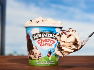 Blockchain pilot sees Ben & Jerry carbon-offset ice cream at new London store