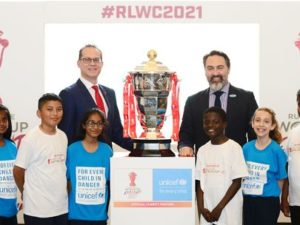 Rugby League World Cup 2021 partners with Unicef UK