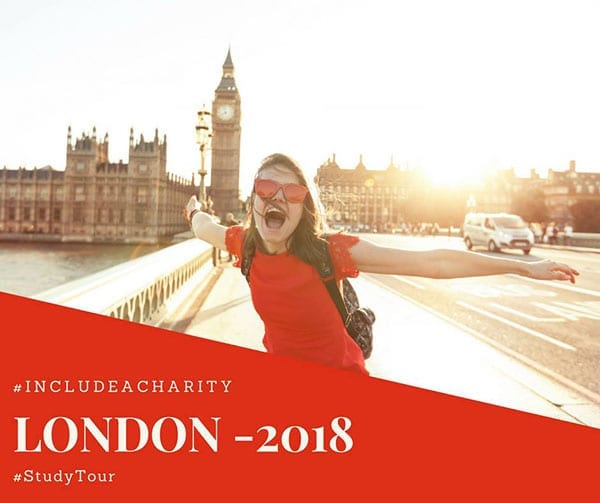 Include a Charity - London tour 2018