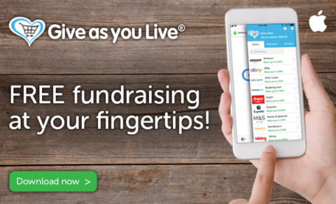 Give as You Live app