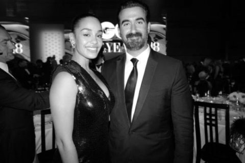 Jorja Smith & Ayman Hariri (CEO & Co-Founder of Vero) - photo: Greg Williams
