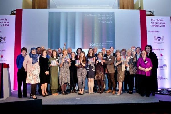 Winner of Charity Governance Awards 2018